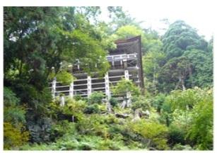 大悲山峰定寺本堂