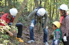 森林整備体験