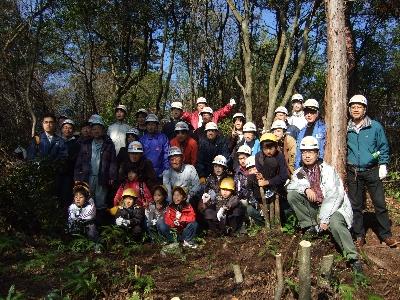 京都でのマツ林再生