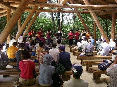 森のコンサートも開催されました
