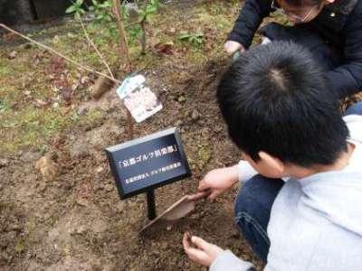 植樹の様子②
