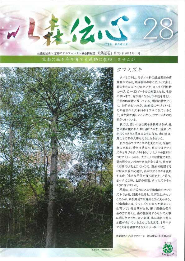 第28号(2014年1月)の表紙画像