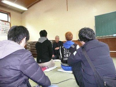 元美山町長の中島さんのお話を伺いました