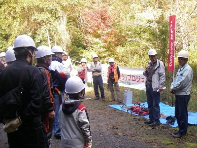 まずは指導林家の藤本氏と和田氏の指導を受けます