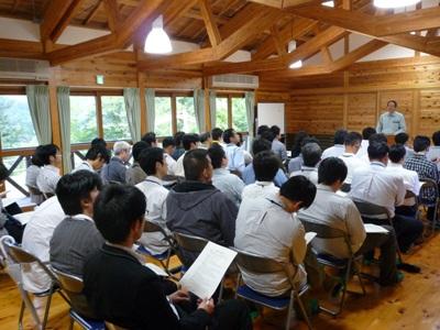 環境学習会の様子