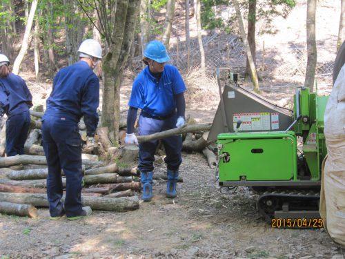 林地残材の活用